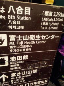 Pos 8 Gunung fuji