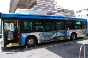 Bus ke Gunung fuji