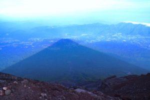 Fujikagame di Gunung fuji