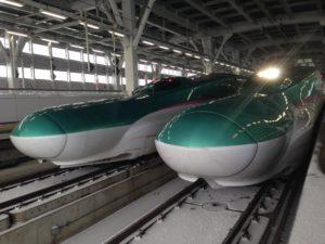 Shinkansen Musim Dingin