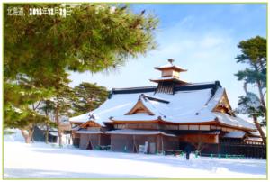 objek wisata musim dingin di hookaido