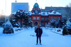 salah satu tempat wisata musim dingin di Hokkaido