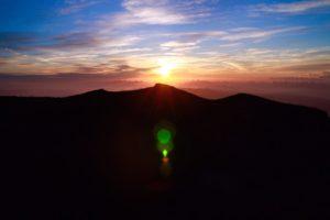 Sunrise di gunung FUji