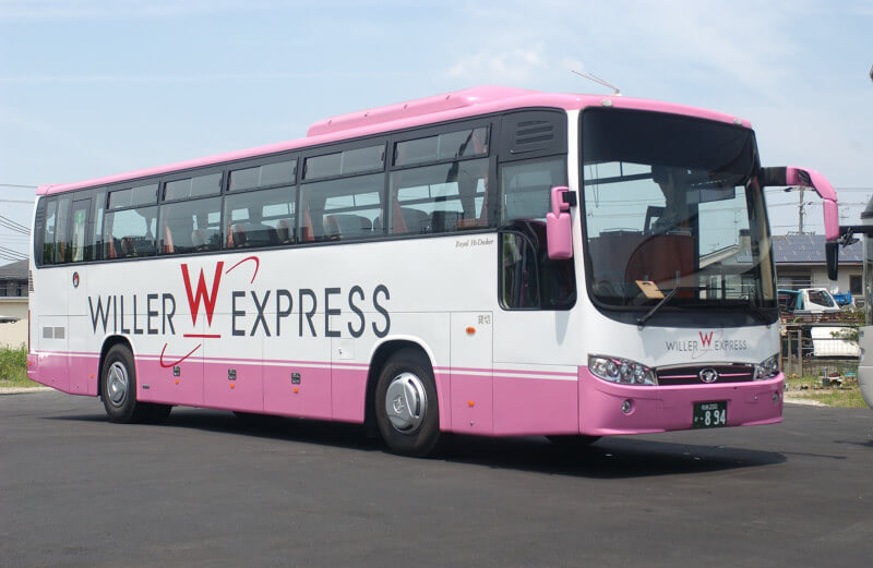 Liburan Dengan Bus Malam di Jepang Willer