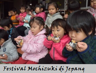 Cara membuat mochi di Jepang