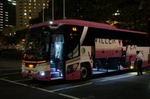 Pengalaman naik bis malam di Jepang