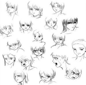 Cara Menggambar Anime