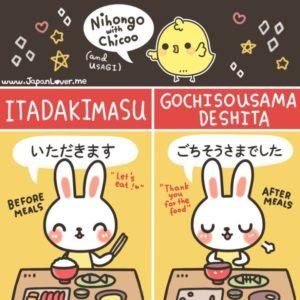 Belajar Bahasa Jepang Sehari hari makan