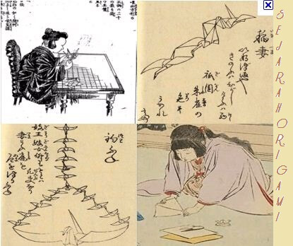 Sejarah Cara Membuat Origami