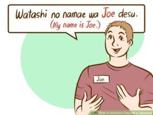 Belajar Bahasa Jepang Sehari hari kenalan