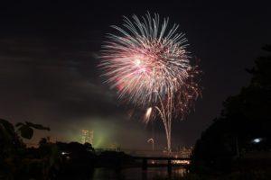 Festival Kembang Api Musim Panas di Jepang