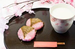 Makanan Bunga Sakura