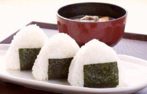 Makanan jepang Onigiri