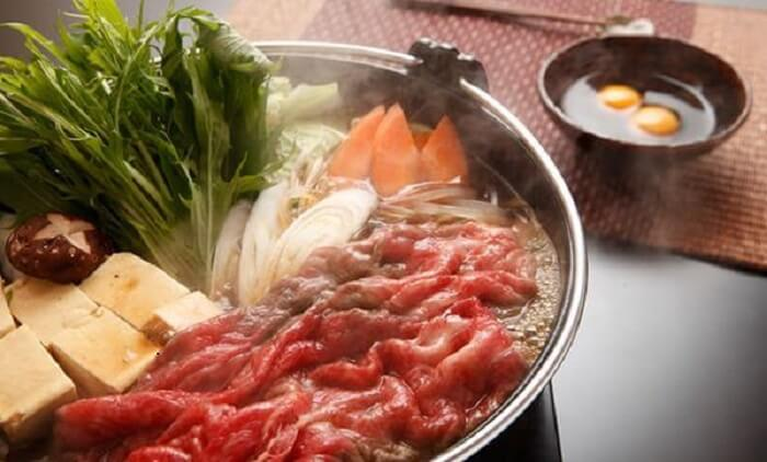 Makanan Jepang Sukiyaki
