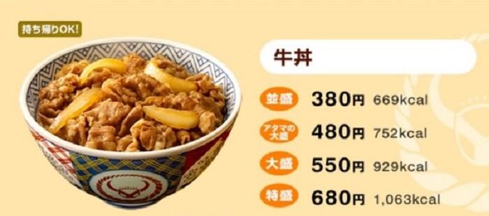 Makana Jepang Gyuudon