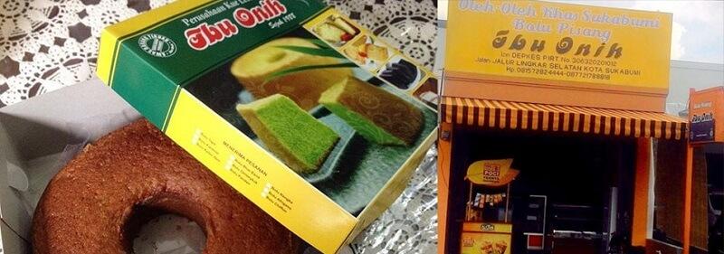 Makanan Khas Sukabumi Bolu Pisang