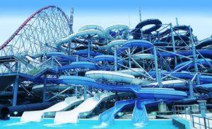 Musim Panas di Jepang bermain ke Water Park