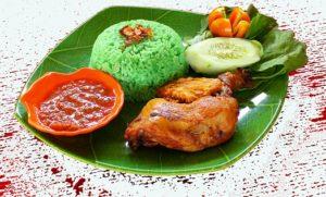 Makanan Khas Sukabumi Nasi Hijau