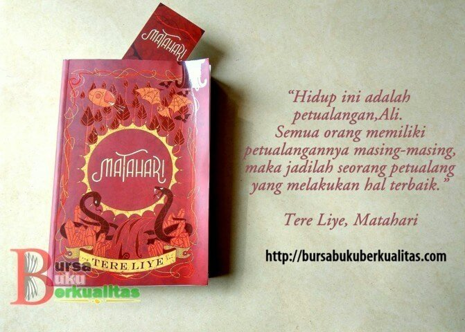 Resensi Novel Tere Liye Matahari