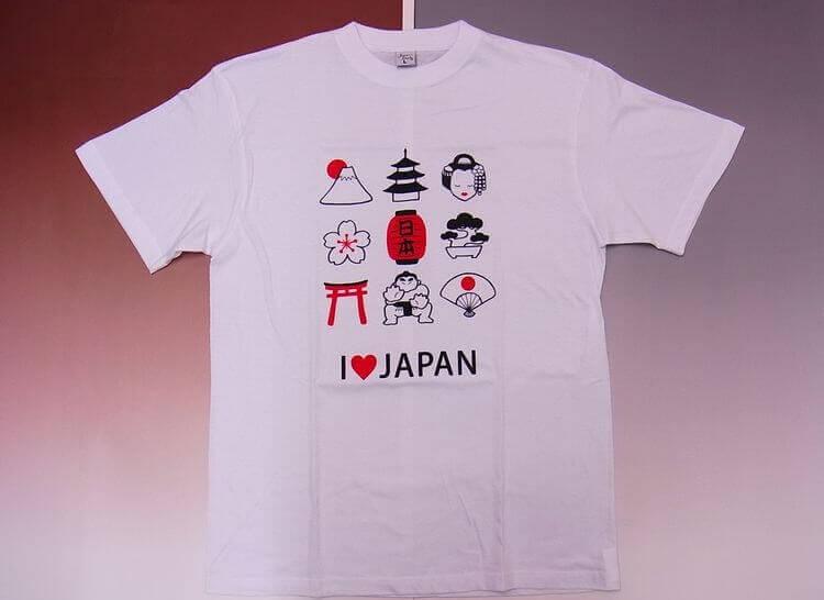 Oleh oleh khas Jepang Baju