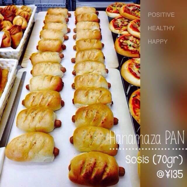 Hanamaza Pan Roti Sosis