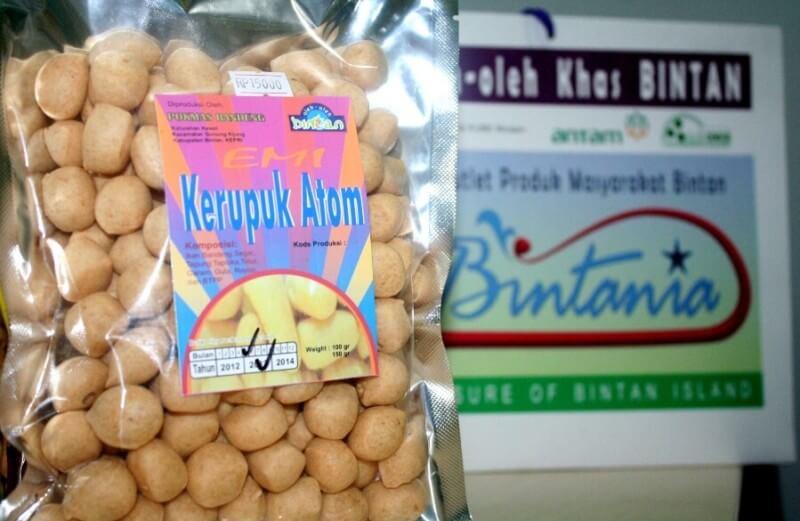 Makanan Khas Kepulauan Riau Kerupuk Atom