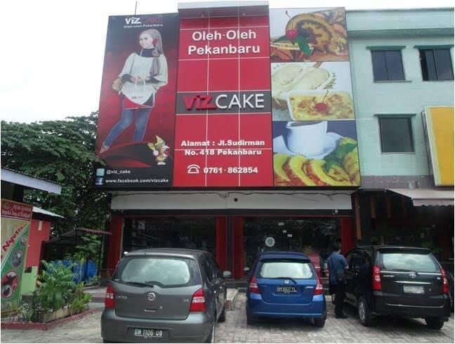 Makanan Khas Kepulauan Riau Viz Cake