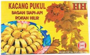 Makanan Khas Pekanbaru Kacang Pukul Bagansiapiapi
