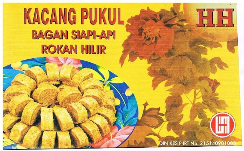 Makanan Khas Pekanbaru Kacang Pukul Bagan Siapi-api