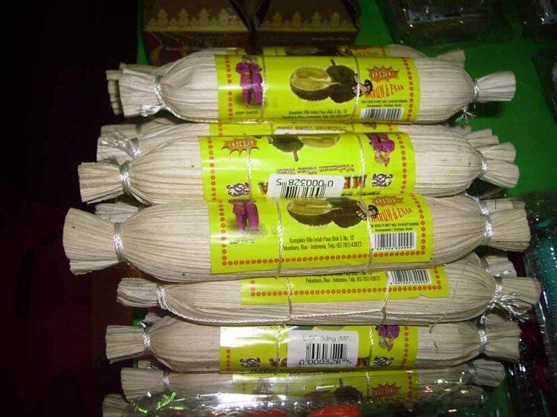 Makanan Khas Pekanbaru Lempuk Durian