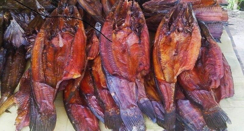Makanan Khas Pekanbaru ikan Salai