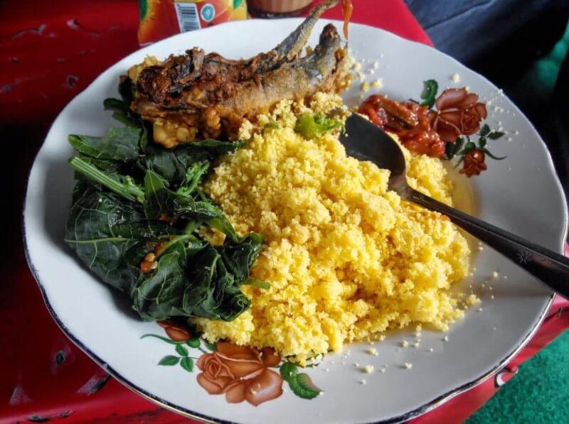 Makanan Khas Purwodadi Nasi Jagung