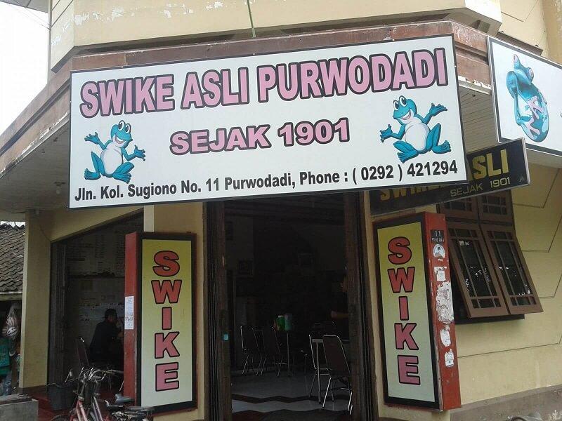Makanan Khas Purwodadi Swike