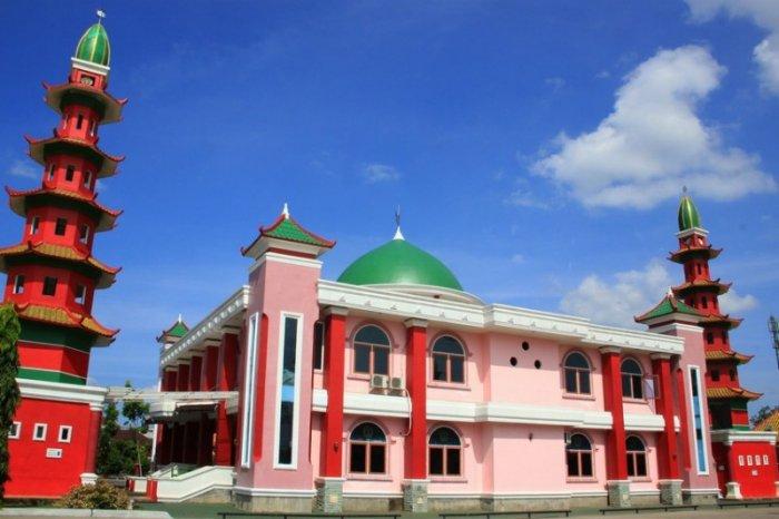 tempat wisata masjid cheng ho palembang