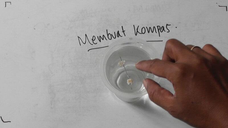 Cara Membuat Arah Mata Angin Kompas