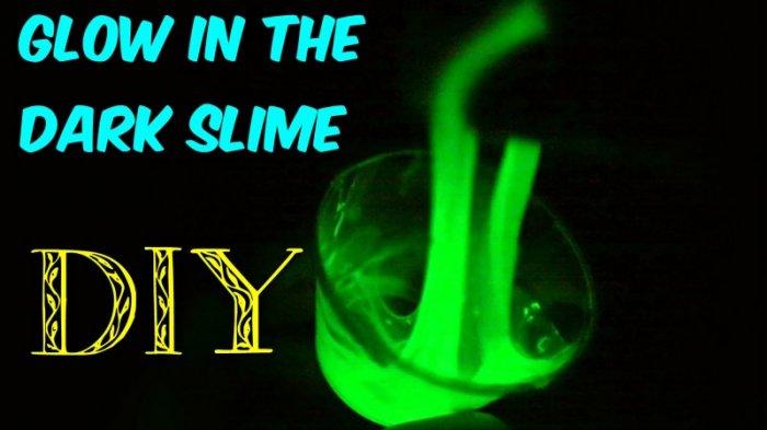Cara Membuat Slime Glow in The Dark