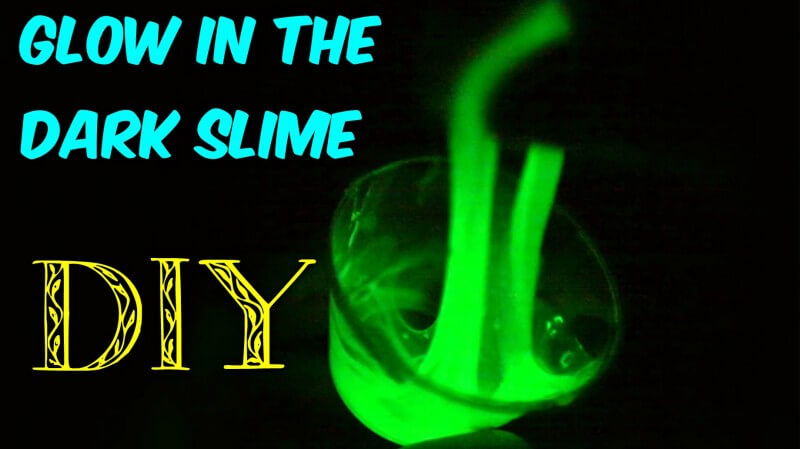 Cara Membuat Slime Glow in The Dark