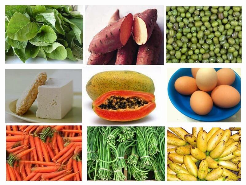 Makanan Penyubur Kandungan Sayuran