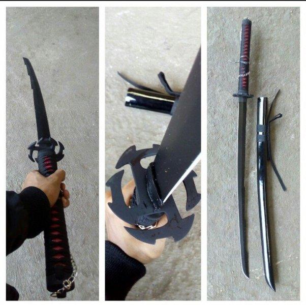 Jual Pedang Katana Tensa Zangetsu