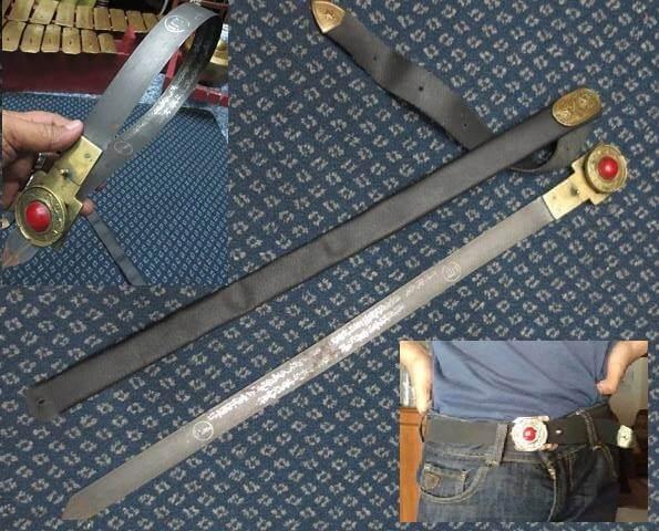 Jual Replika Pedang Sabuk