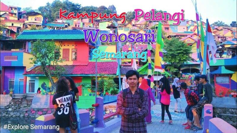 Keunikkan Kampung Pelangi Semarang