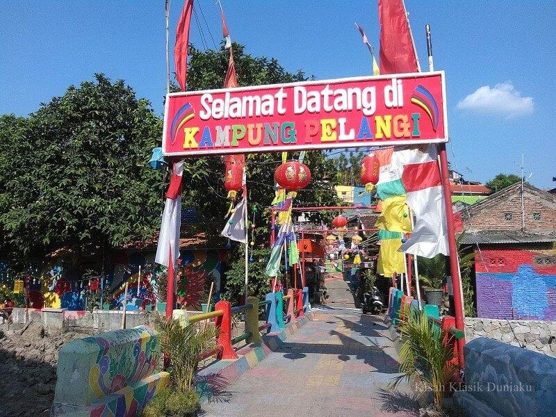 Lokasi Kampung Pelangi Semarang