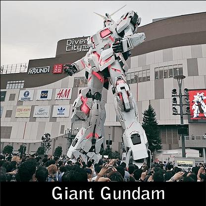 Paket Liburan ke Jepang Giant Gundam