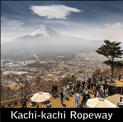 Paket Liburan ke Jepang KAchi kachi Ropeway