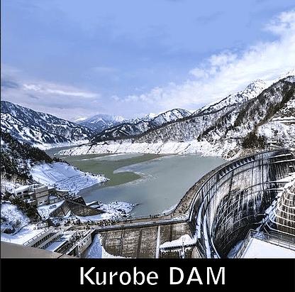 Paket Liburan ke Jepang Kurobe DAM