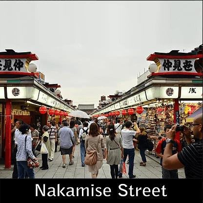 Paket Liburan ke Jepang Nakamise Street