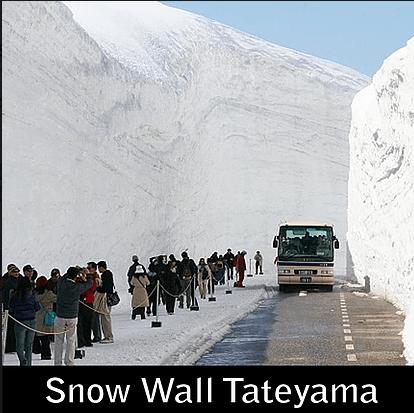 Paket Liburan ke Jepang Tateyama Winter