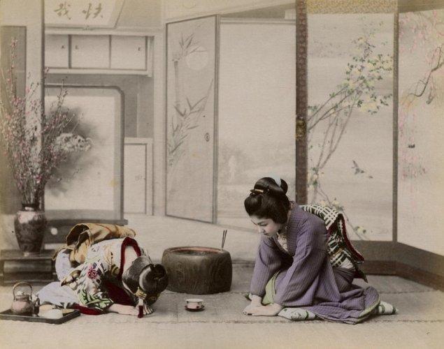 Traditional Japanese House Byobu