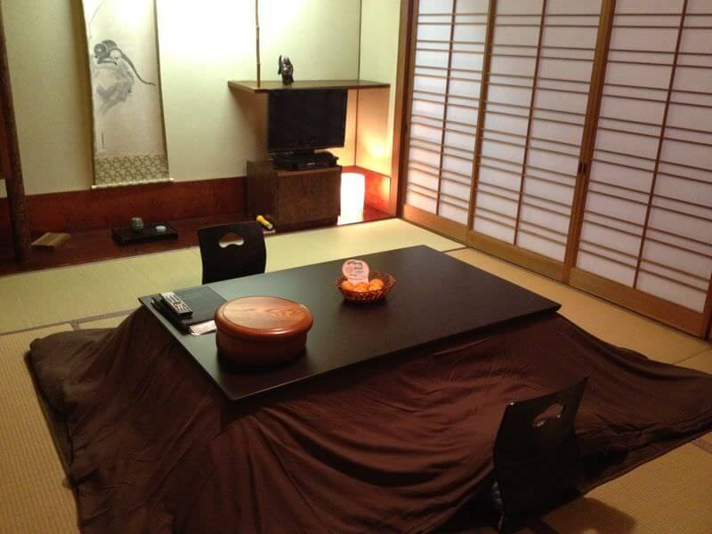 Traditional Japanese House Kotatsu