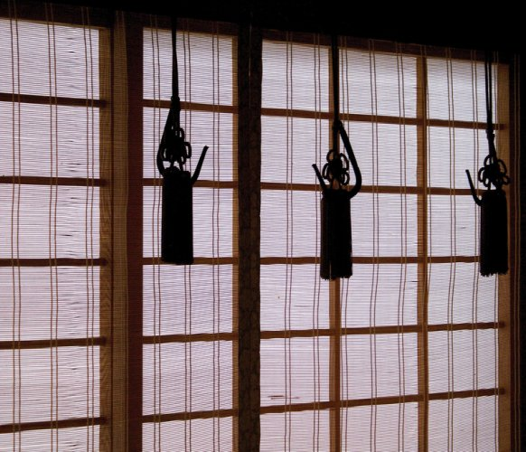 Traditional Japanese House Sudare
